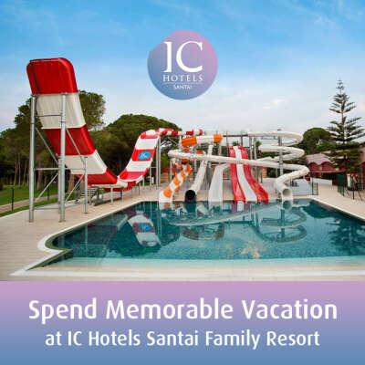 Spend Memorable Vacation at IC Hotels Santai Family Resort