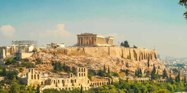 Путешествие в Афины, Греция