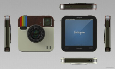 Фотокамеру Instagram Socialmatic Camera Polaroid