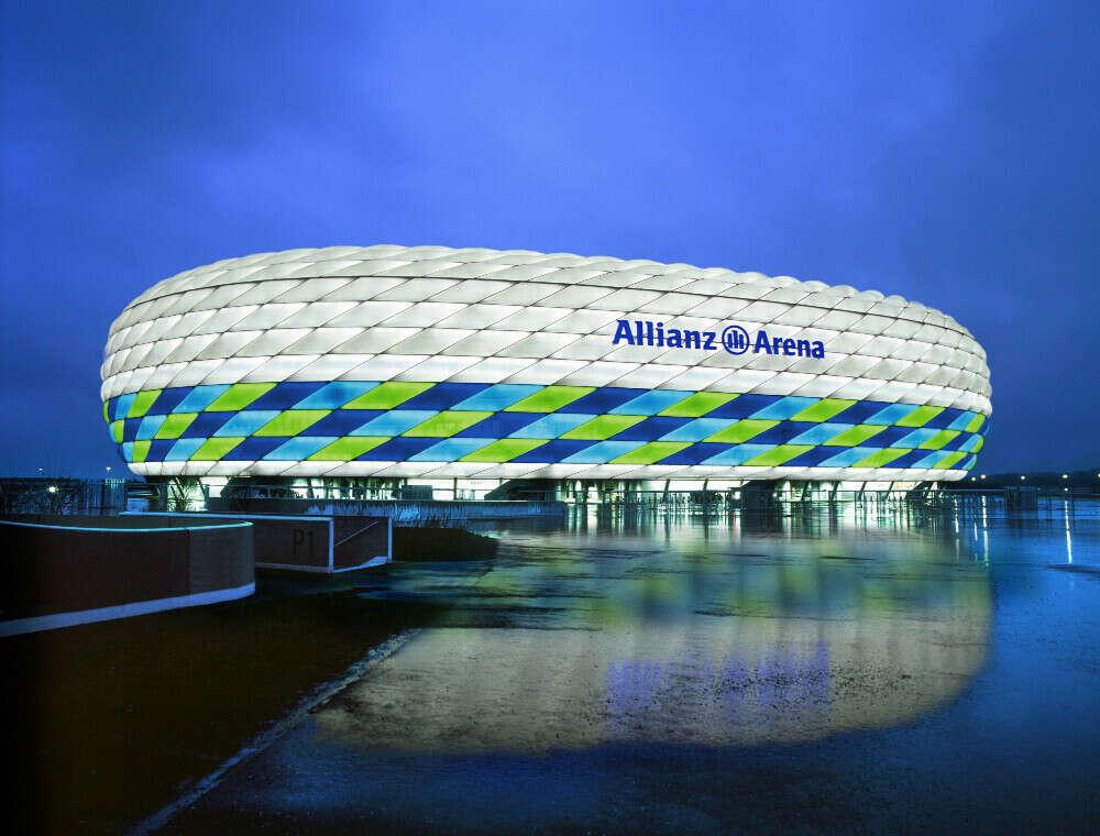 Посетить Allianz arena