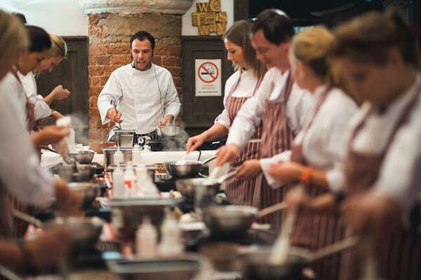 Посетить кулинарный мастер-класс