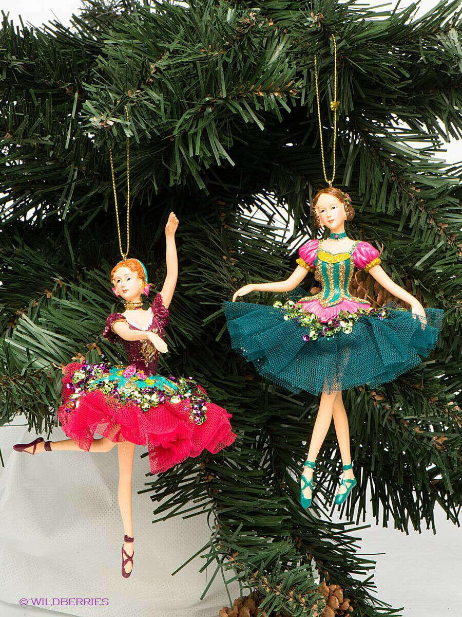 балерины елочные игрушки