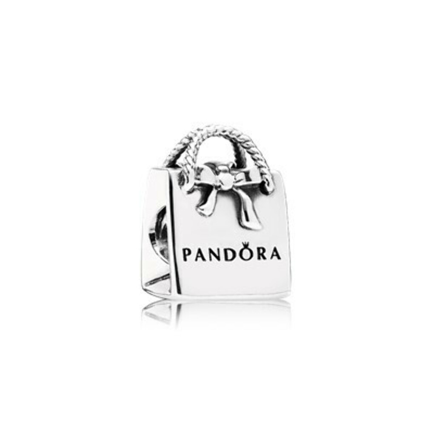 Pandora Шарм в виде сумки PANDORA с бантиком
