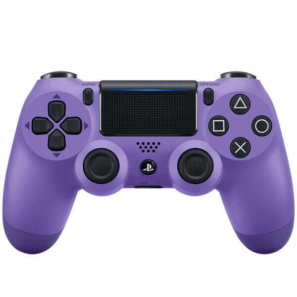 Геймпад для консоли PS4 PlayStation DualShock v2 Electric Purple (CUH-ZCT2E)