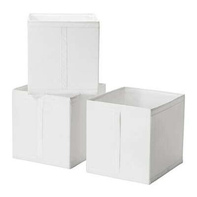 СКУББ Коробка - белый  - IKEA