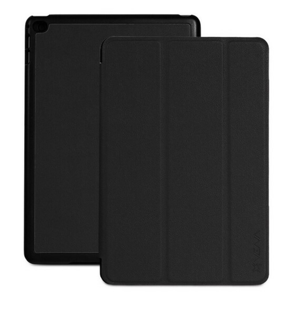 vCover PU Leather Smart Cover Slim Hard Shell Case with Sleep/Wake Function for Apple iPad Mini with Retina Display (2013) / iPad Mini 3 (2014)