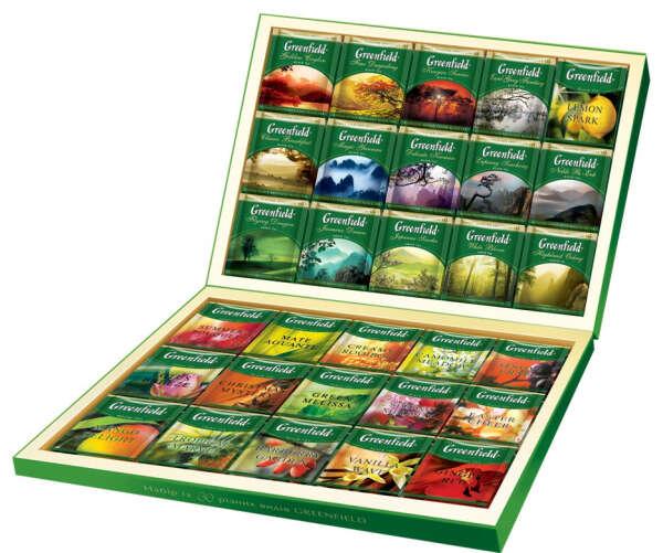 Подарочный набор чая Greenfield