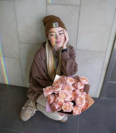 Букет кустовых роз Джульетта