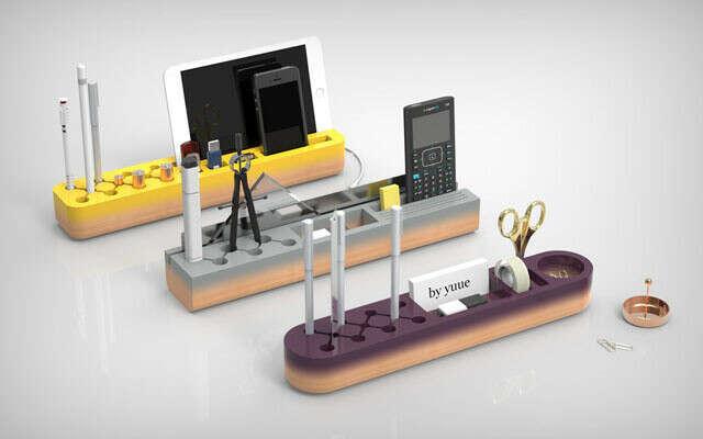 Дизайнеры из Yuue design придумали самый простой органайзер для рабочего стола