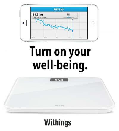 WiFi весы Withings Smart Body Analyzer WS-30