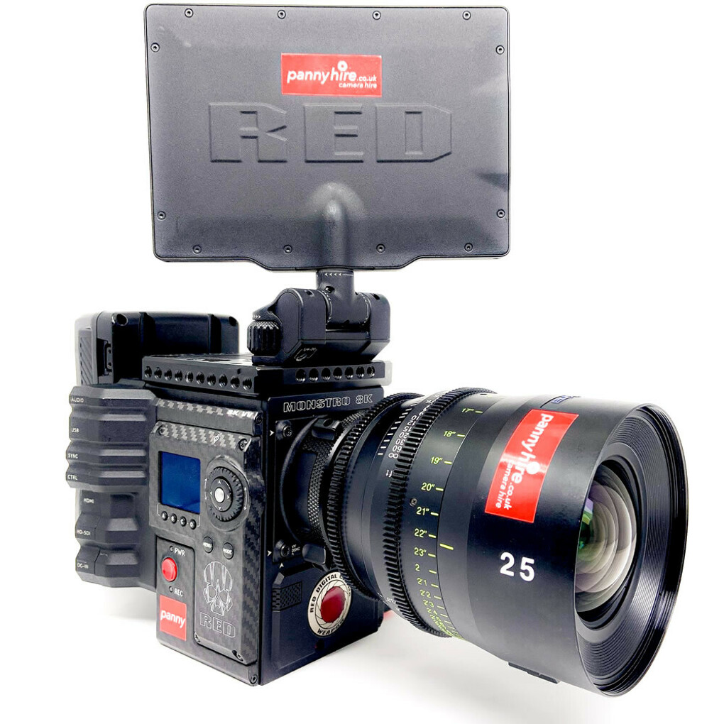 RED MONSTRO VISTAVISION 8K WEAPON CARBON VV