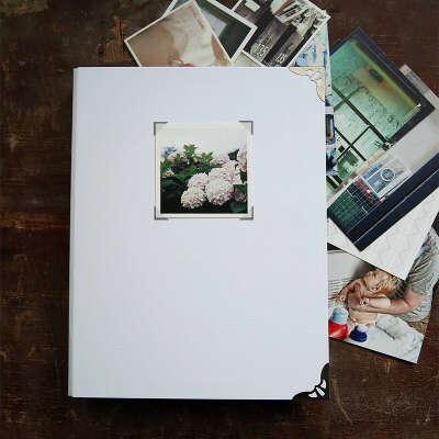 Распечатать фотографии и поместить в альбом