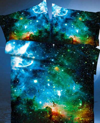 Комплект постельного белья 1,5 спальное Космос