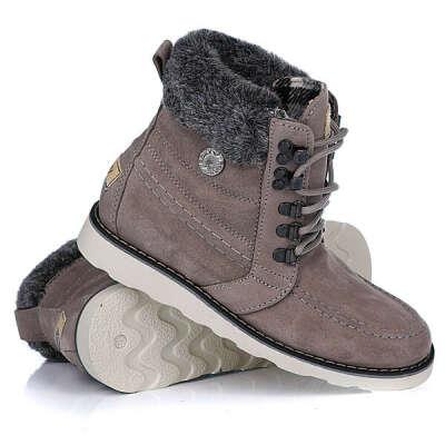 Купить ботинки зимние женские Roxy Joelle Flint Grey в интернет-магазине Proskater.ru