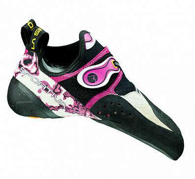 Скальные туфли женские La Sportiva Solution White/Pink