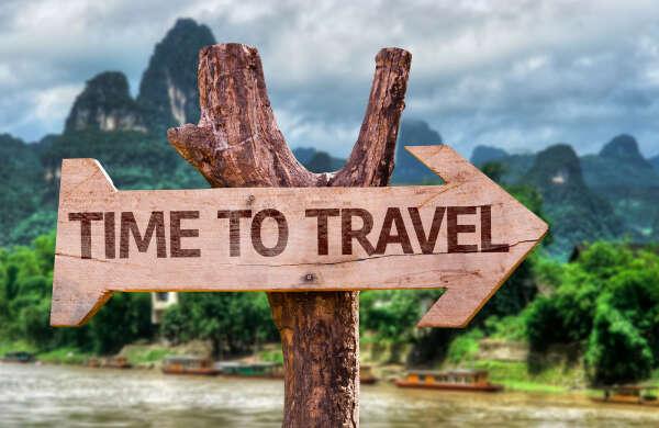 Отправиться путешествовать