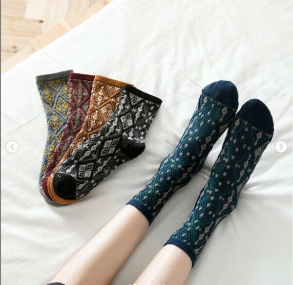 Носки-ковры!