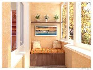 Ремонт на балконе