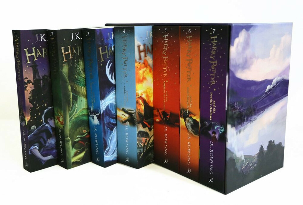 Harry Potter: The Complete Collection (комплект из 7 книг)