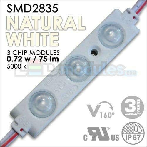160° – 0.72w – Natural White Led Modules (100pcs)
