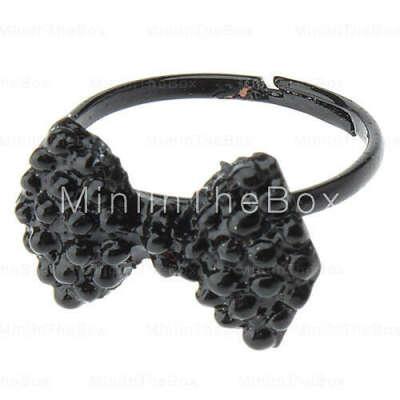 [EUR € 0.91]  - Retro Black Ring Лук Drill