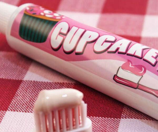 Зубная паста Cupcake toothpaste