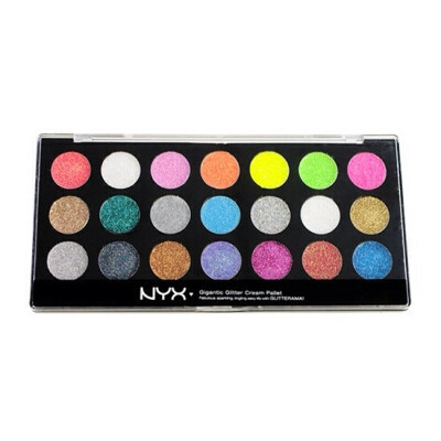 NYX cream glitter palette
