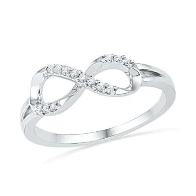 Кольцо бесконечность Tiffany