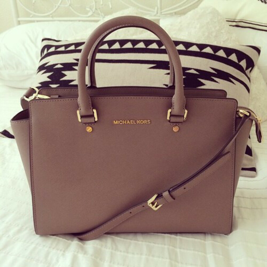 Сумка MICHAEL Michael Kors Selma Top-Zip Satchel