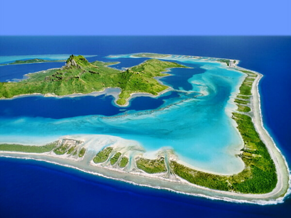 Побывать на Муреа, Бора-бора и Таити