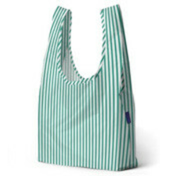 Компактная сумка-авоська BAGGU Mint Stripe