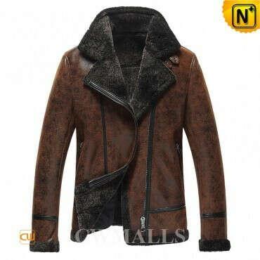 CWMALLS® Dallas Custom Sheepskin Jacket CW861276