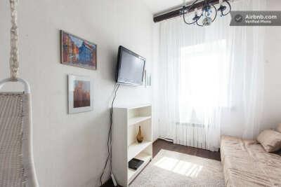 пожить в квартире-студии в историч. центре Санкт-Петербурга