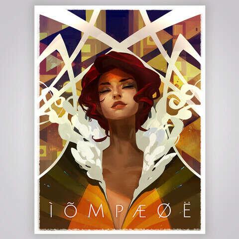 Transistor Concert Poster