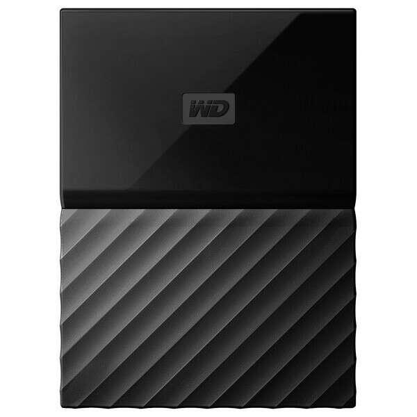 """Внешний жесткий диск 2.5"""" WD 2TB My Passport Black (WDBLHR0020BBK-EEUE)"""