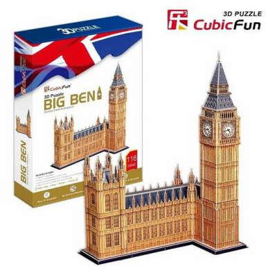 3D пазлы Big Ben