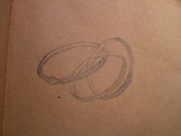 Серебряное кольцо по собственному эскизу