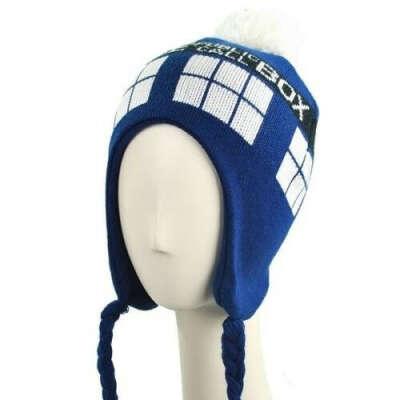 шапка доктор кто