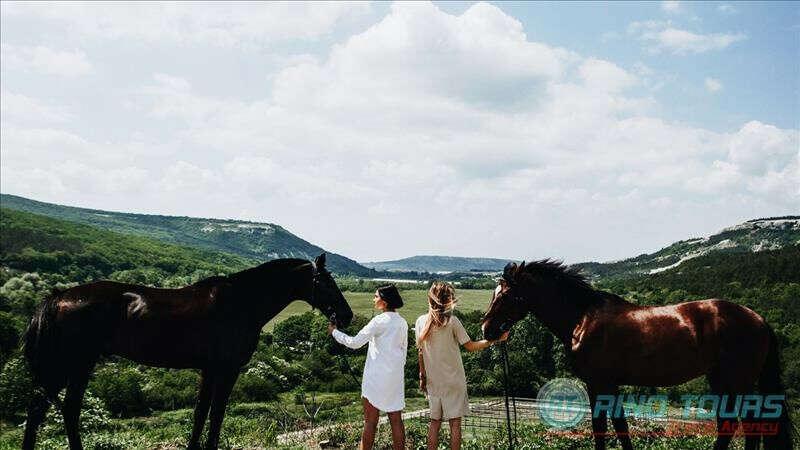 Прогулка на лошади