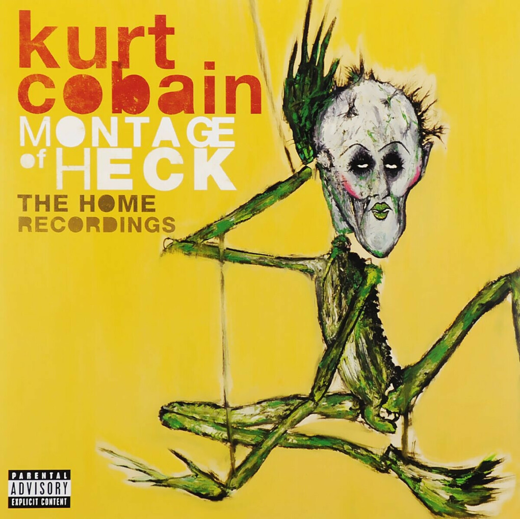 Kurt Cobain. Montage of Heck. The Home Recordings. Deluxe (2 LP)