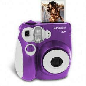 Фотоаппарат Polaroid PIC300 фиолетовый - Polaroid STORE   Купить кассеты и фотокамеры Полароид - официальный дилер Impossible