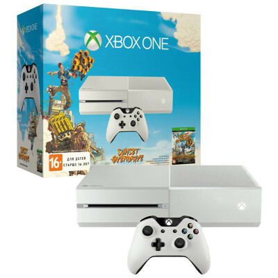 Microsoft 500Gb White + Sunset Overdrive (6QZ-00038)