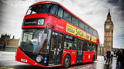 Прокатиться на лондонском даблдекере
