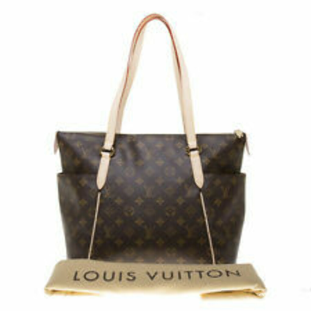 Authentic Louis Vuitton Monogram Canvas Totally MM Tote Bag