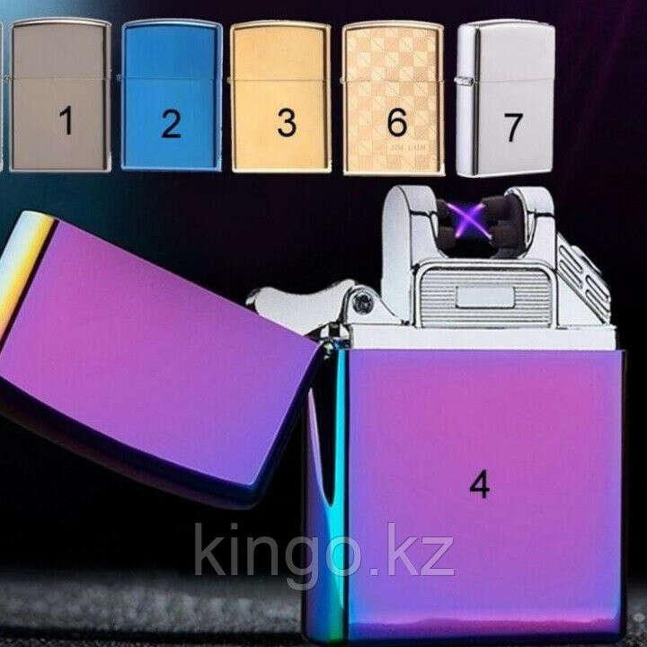 Электроимпульсная зажигалка Zippo, электронная зажигалка, цена 5100 Тг., купить в Алматы — Satu.kz (ID#63592644)