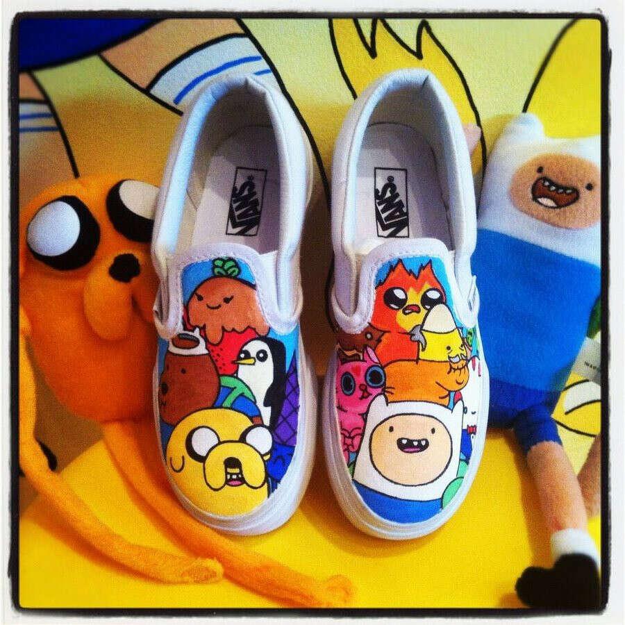 Vans с Adventure time