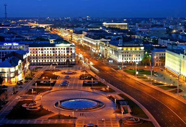 в Минск