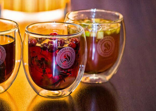 Пиала для чая из стекла с двойной стенкой