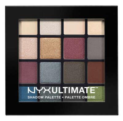 Nyx eyeshadow palette Smokey & Highlighter