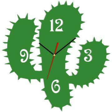 Часы «Кактус»
